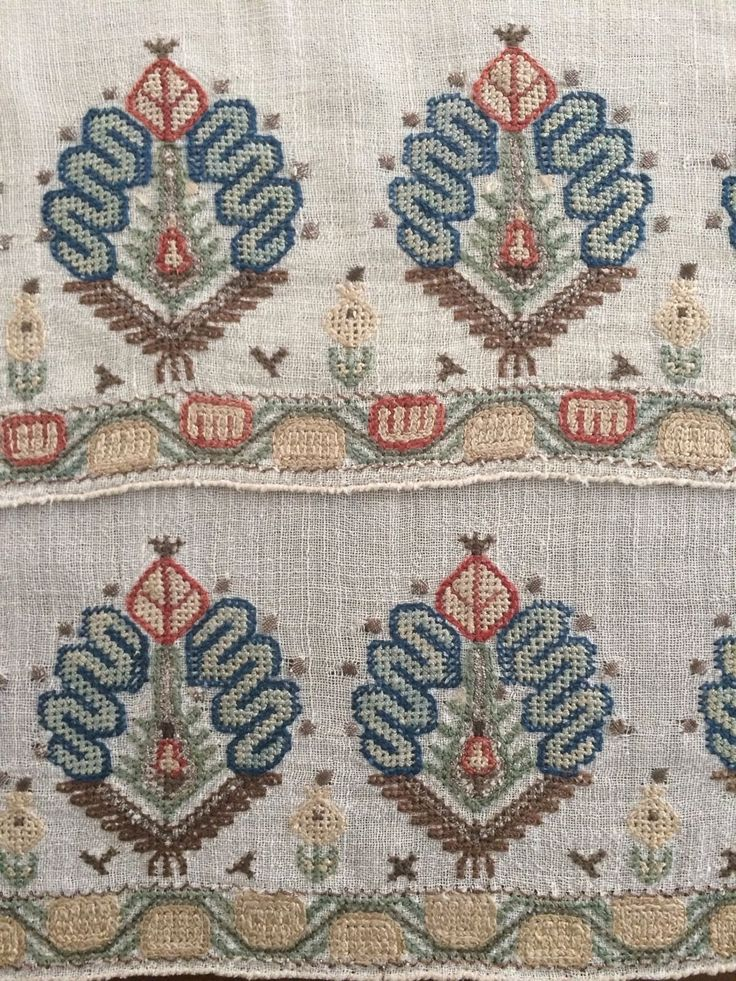 19th C ANTIQUE OTTOMAN-TURKISH HAND EMBROIDERY ON LINEN 'YAGLIK'' | Antiques, Linens & Textiles (Pre-1930), Embroidery | eBay!