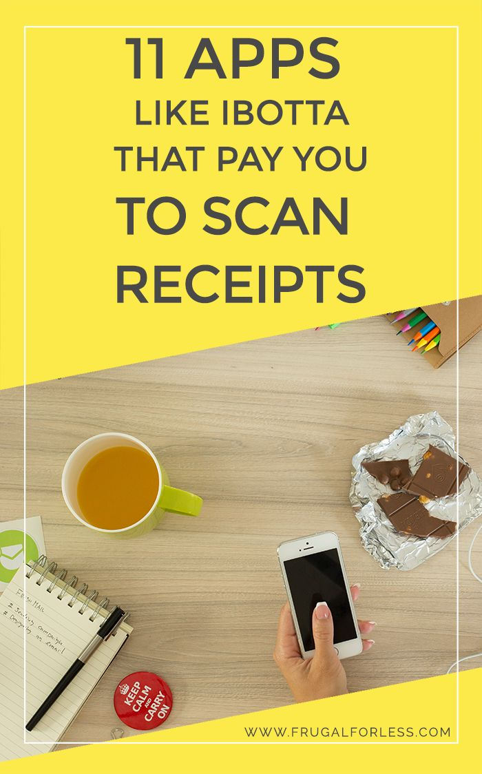 Here are 11 apps like Ibotta that pay you to scan your receipts using your smartphone.