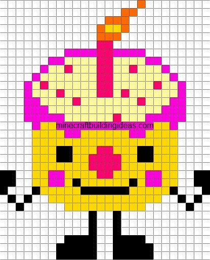 43 Best Pixel Art Images On Pinterest Bead Patterns