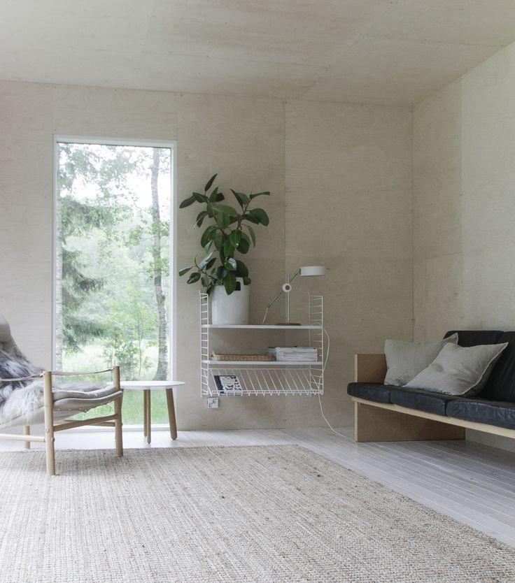 Blogiystäväni ihastuttava minimalistinen mökki / Bloggväninnas superfin minimalistisk sommarstuga