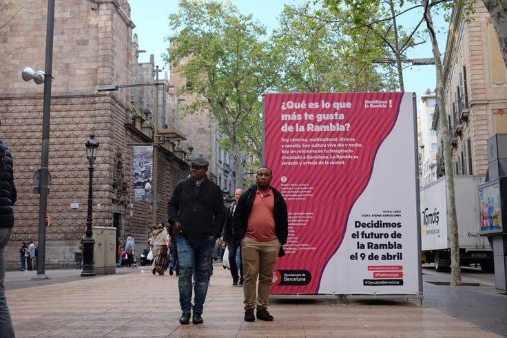 Decidim la Rambla #agitaciografica #ajuntamentdebarcelona