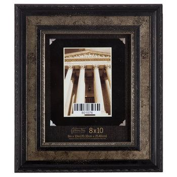 x antique silver wide wood frame - Wooden Frames Hobby Lobby