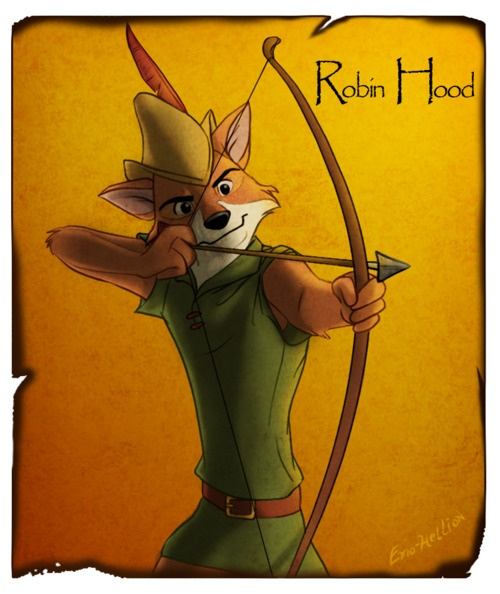 'Cause let's be honest. When we hear Robin Hood, we think of this guy. :P