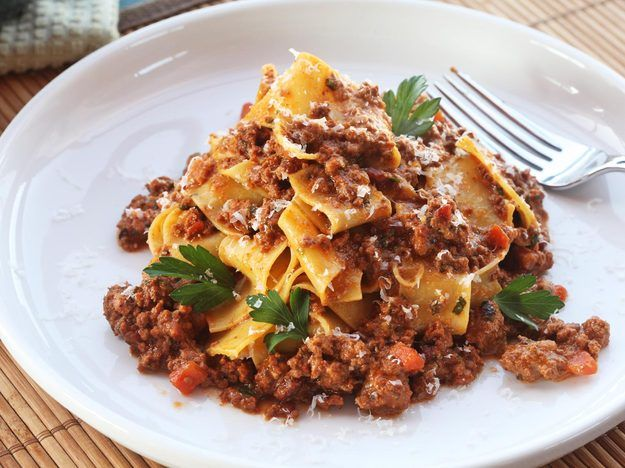 Slow-cooked Bolognese Sauce: When it comes to meat sauces, ragù Bolognese is the undisputed heavyweight champion of the world.