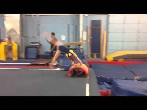 """Want U Back Gymnastics Video"""
