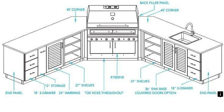 Head To The Webpage To Read More On Backyard Kitchen Follow The Link For More Infor Outdoor Kitchen Plans Outdoor Kitchen Design Layout Kitchen Design Plans