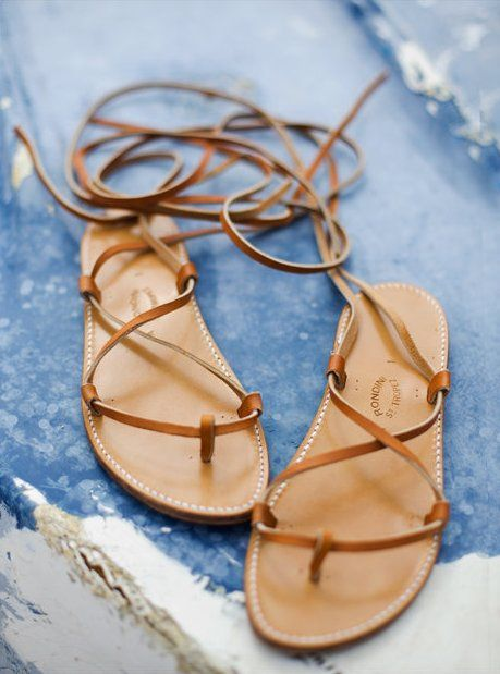 Great stylish sandals for this summer season: Strappy Sandals, Fashion Shoes, Summer Sandals, Style, Clothing, St. Tropez, Leather Sandals, Wear, Flats Sandals