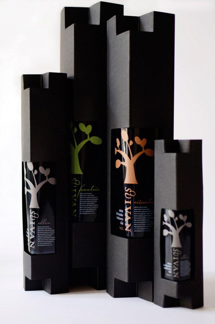 ♂ Creative Black package packaging design
