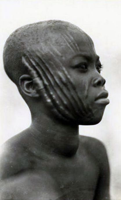Africa | Yound man from French Equatorial Africa (now ...