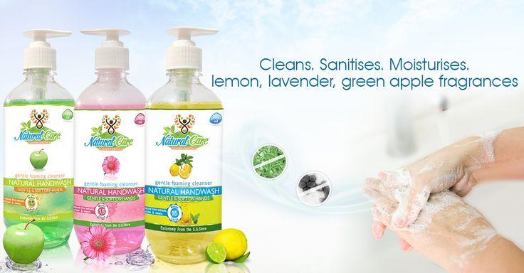 #natural #hand #wash #triple #action