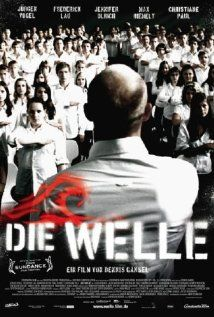 """Die Welle"" (The Wave) 2008 German film directed by Dennis Gansel. High school teacher Rainer Wenger (Jürgen Vogel) is forced to teach a class on autocracy, despite being an anarchist"