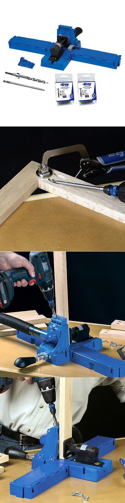 Joiners 20780: Kreg K5 Pocket Hole Jig System Woodworking Tool - New Upgraded K4 -> BUY IT NOW ONLY: $139 on eBay!