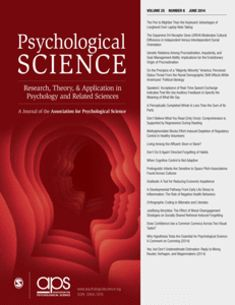 The Pen Is Mightier Than the Keyboard Psychological Science Web site 4/6/2014