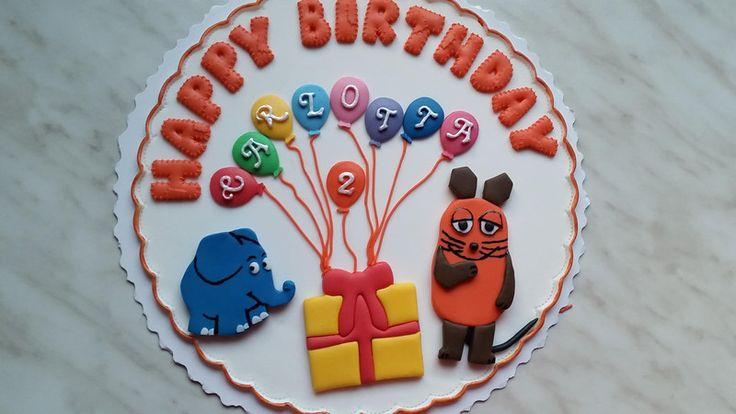 Tortenaufleger+-+Geburtstag+Elefant+und+Maus+von+SaM´s+Deko-Traum+auf+DaWanda.com