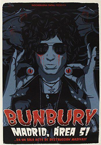 Bunbury - Madrid, Area 51 ... En Un Solo Acto De Destruccion Masiva (Multiregion Blu Ray) - https://delicious.com/netzero2
