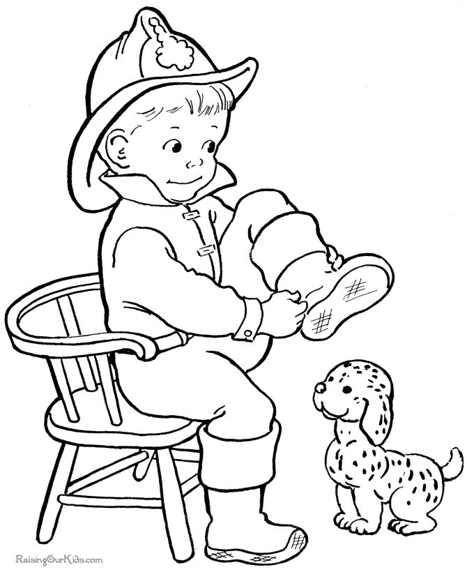 Cute Pictures To Color For Kids