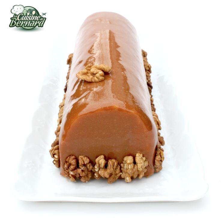 La cuisine de bernard la b che noix caramel et chocolat for La cuisine de bernard
