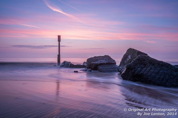 Sunrise at Waxham on the Norfolk coast