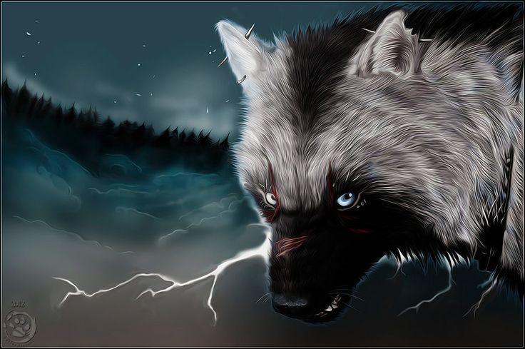 Punk Dog by wolfenwinter