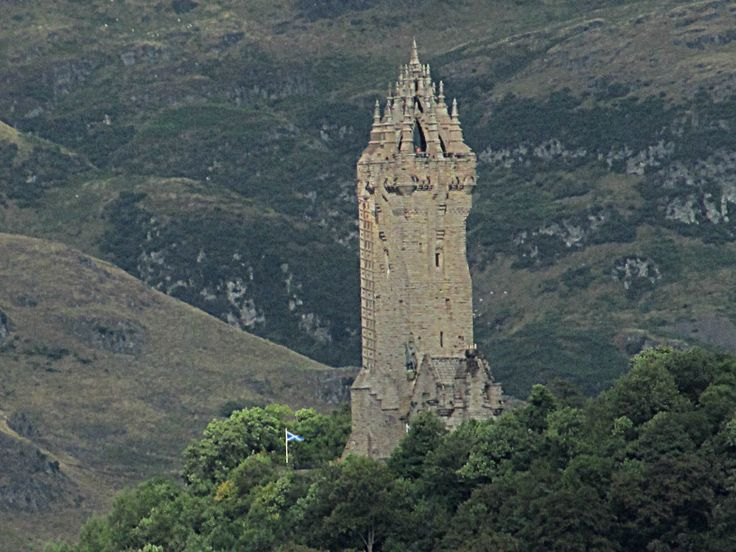 Scotland, Stirling Wallace monument