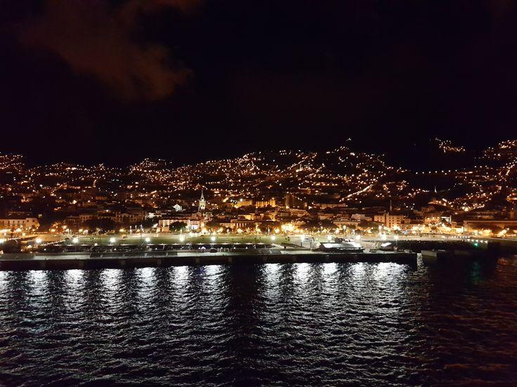 Aida Kreuzfahrt Kanaren und Madeira - Madeira - Einlaufen