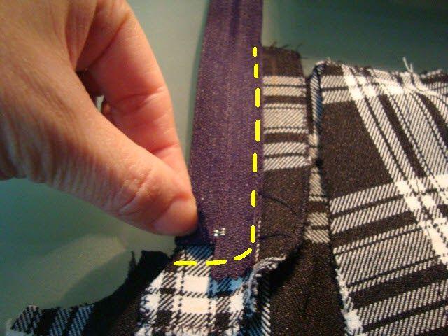 Esta vez traigo un pantalón corto con pinzas y con vuelta en el bajo.      Para este pantalón he utilizado 0,50 m de tela de cuadros que...