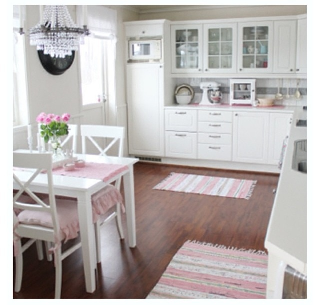 1000 Images About Pink And White Kitchen On Pinterest