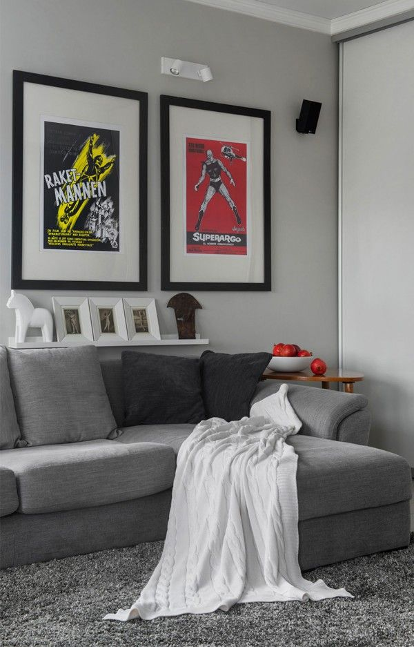 Modern Apartment Design Ideas...love for a guys place