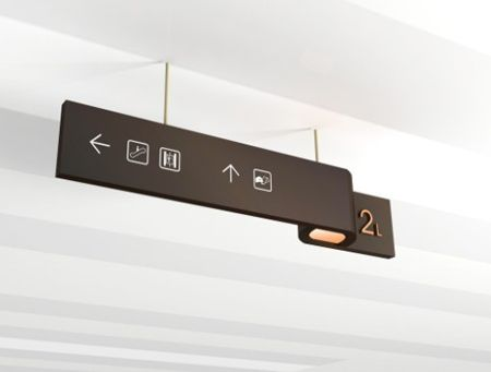 SMCity Wayfinding directional sign 天津SM城市广场 标识设计