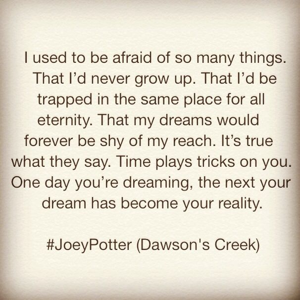 From Dawson's Creek.
