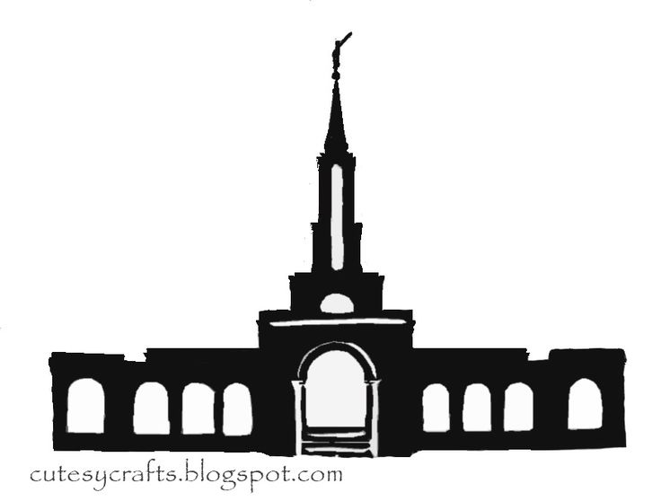 38 best temple silhouette images on pinterest lds mormon temples rh pinterest com salt lake temple outline clip art
