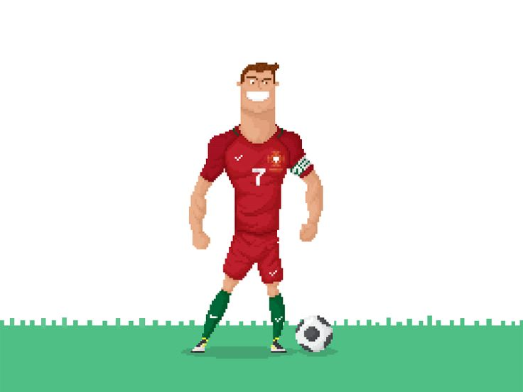CR7 Euro Cup by Anthony Mendes