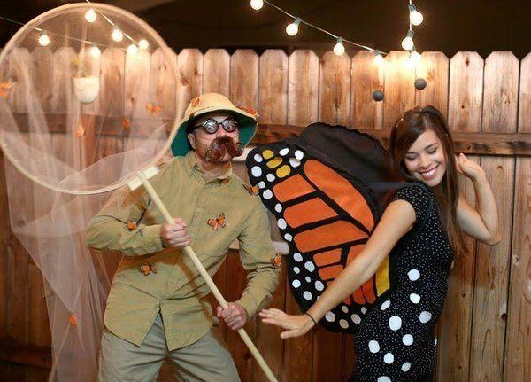 Butterfly and butterfly catcher Halloween costumes | JULIE ANN ART