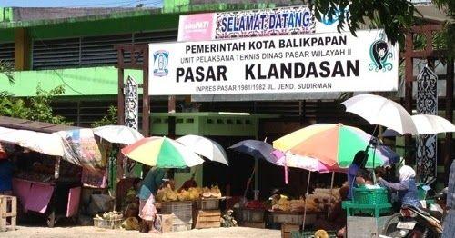 Pasar Klandasan Surganya Bahan Makanan Segar dan Murah