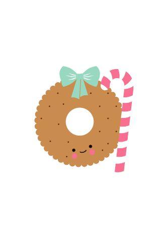 Christmastcard illustrated by @eeflillemor; buy @petitelouise - seen on HappyMakersBlog.com