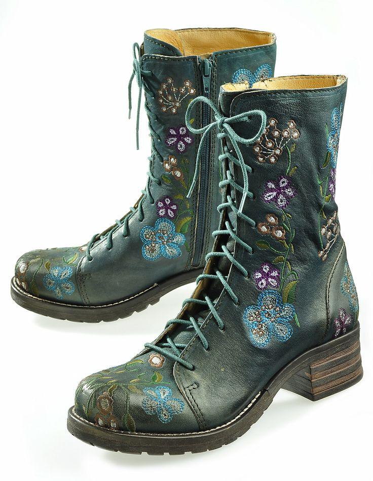 Brako 'Felina', green - Ankle Boots - Deerberg                                                                                                                                                     Mehr