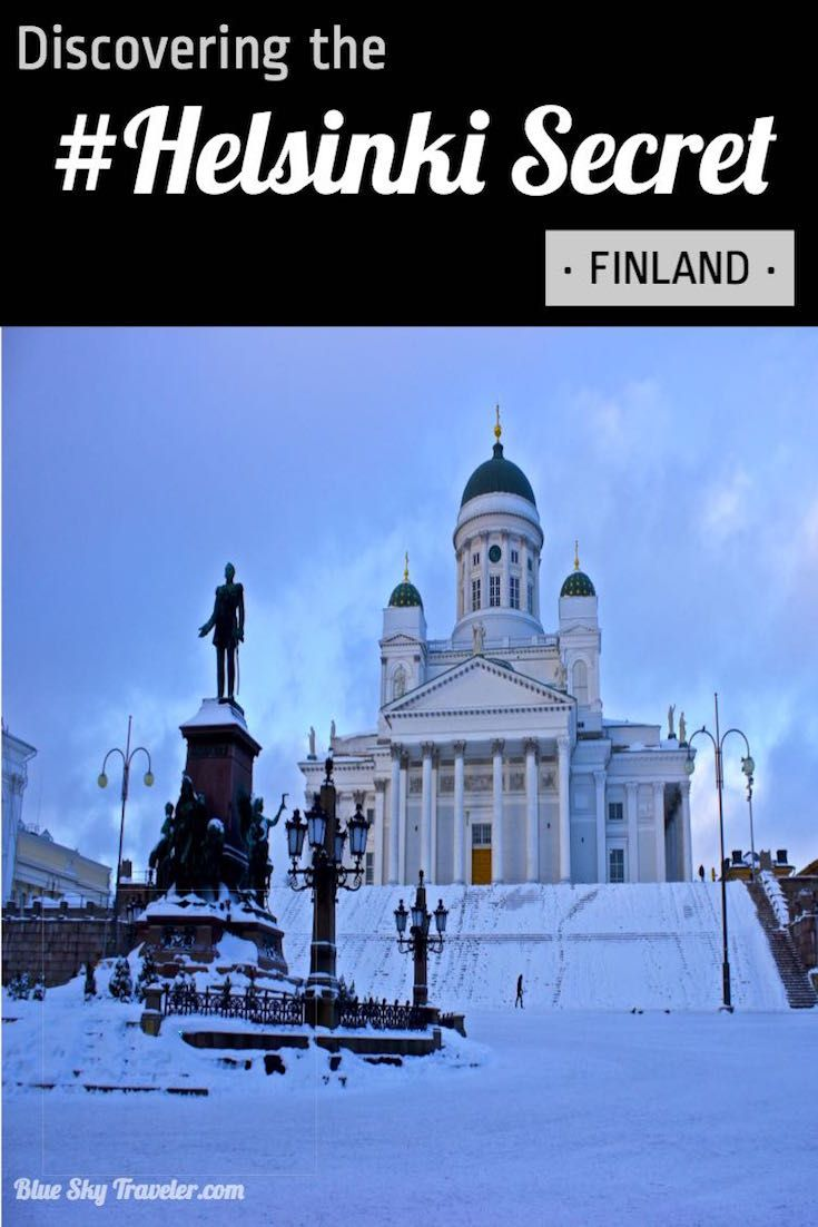 Helsinki in winter! Experience a Winter Wonderland and discover all the secrets of this Northern European capital city. #HelsinkiSecret