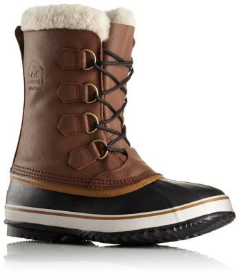 This waterproof boot features a supple full-grain leather upper and a slightly lighter shell than the Caribou, making it great for keeping feet warm and dry without weighing you down during a long day out in the weather.