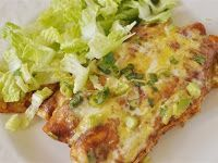Chicken Enchiladas and Enchilada Sauce Recipe