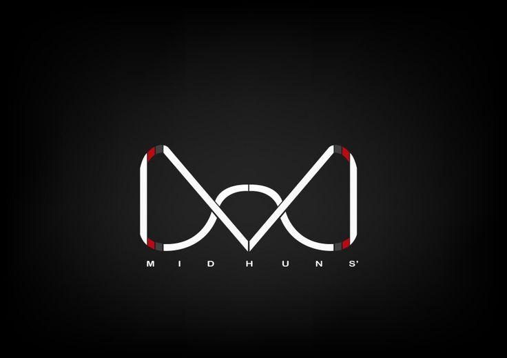 Midhuns' brief company logo.