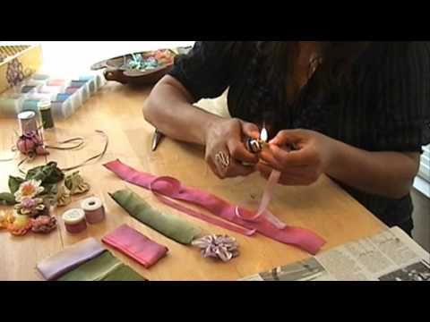 Video Sulaman Reben: How to Make a Silk Ribbon Flower -    - http://maribelajarsulamanriben.com/video-tutorial/video-sulaman-reben-how-to-make-a-silk-ribbon-flower/?utm_source=PN&utm_medium=gravatar2020&utm_campaign=SNAP%2Bfrom%2BSulaman+Riben+-+Kelas+Sulaman+Reben+Online