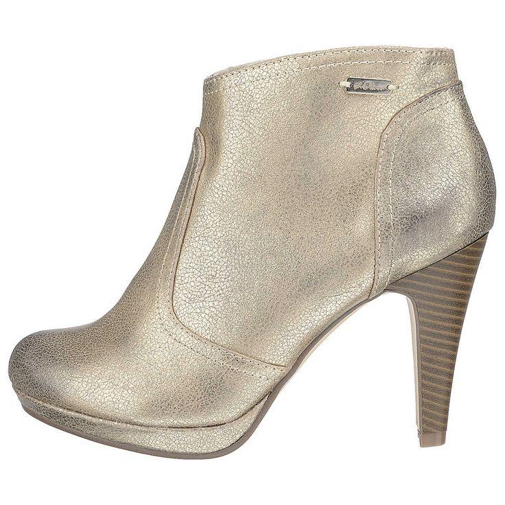 Unser MUST HAVE des Tages - heute: goldene Booties für den goldenen Herbst #boots #shoes #sOliver