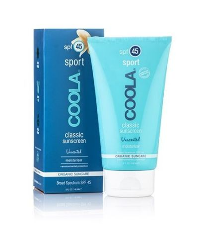 Coola Organic Sunscreen   My favorite moisturizing, natural and physical sunblock.