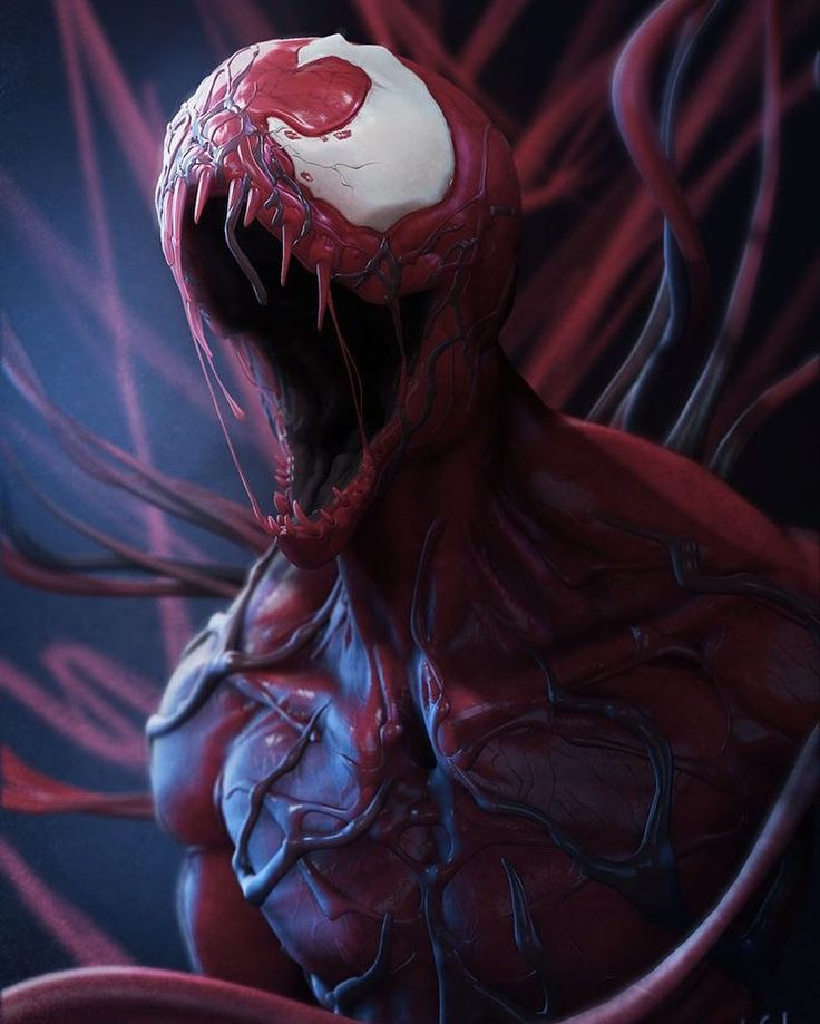 """2,033 Likes, 5 Comments -  Welcome to my page!  (@heroic_comics) on Instagram: """"Carnage!! Art by @ljsketch  #Carnage #Symbiote #Marvel #MarvelComics #Comics #ConceptArt #Art…"""""""