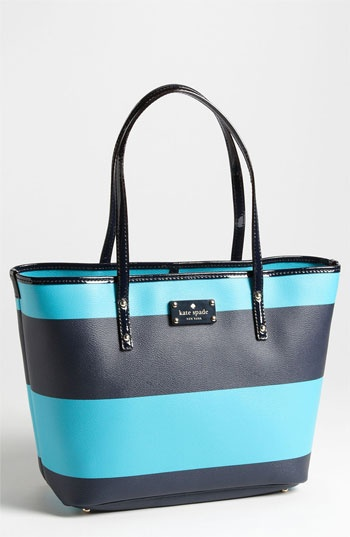kate spade new york 'boutique stripe - small harmony' tote available at #Nordstrom