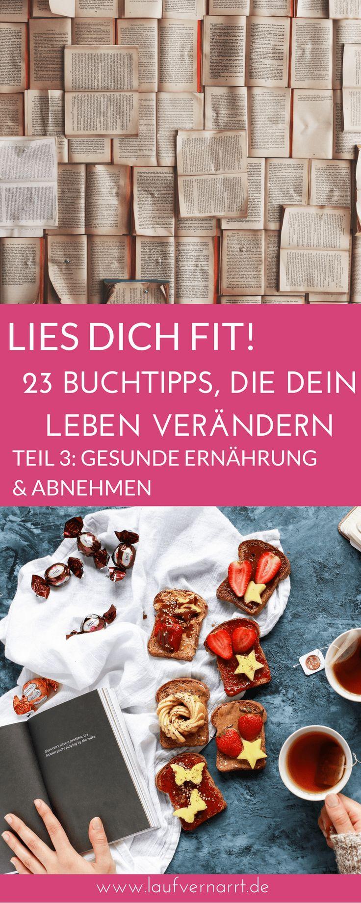 Lies dich fit! 23 Buchtipps, die dein Leben verändern (Teil 3 – Ernährung –    Food Blogger DACH   