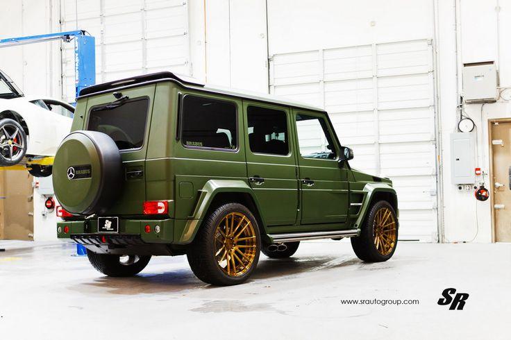 Military Green Brabus G63 2 175x175