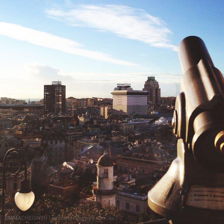 Spianata Castelletto, Genova, Italy