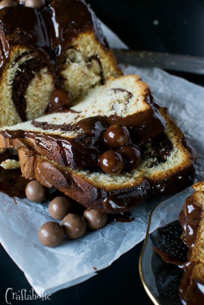 κέικ με γλάσο μερέντας