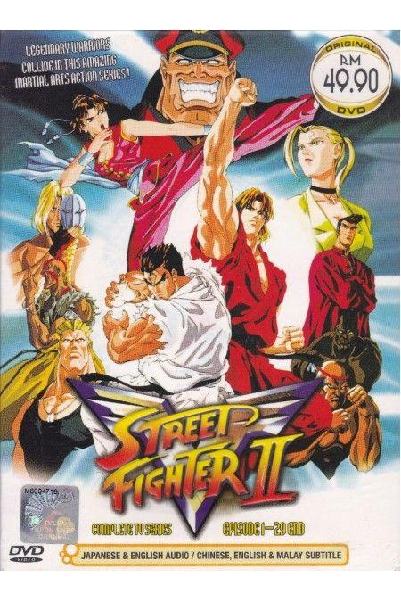 STREET FIGHTER II V Vol.1-29End Complete TV Series